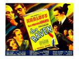 The Raven  Boris Karloff  Bela Lugosi  Irene Ware  Lester Matthews  1935