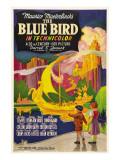 The Blue Bird  Poster Art  1940