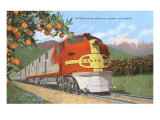 Streamlining through California  Oranges