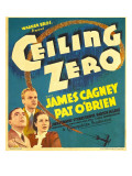 Ceiling Zero  Pat O&#39;Brien  James Cagney  June Travis on Window Card  1936