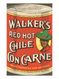 Can of Walker&#39;s Chile con Carne