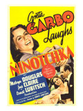 Ninotchka  Greta Garbo  Greta Garbo  Melvyn Douglas on Midget Window Card  1939
