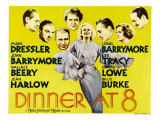 Dinner at Eight  Lionel Barrymore  Lee Tracy  Wallace Beery  1933