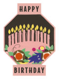 Happy Birthday  Cake Motif