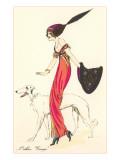 French Fashion  Borzoi