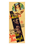 Smilin' Through  Norma Shearer  Fredric March  Norma Shearer on Insert Poster  1932
