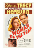 Woman of the Year  (Poster Art)  Katharine Hepburn  Spencer Tracy  1942