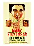 Mary Stevens  MD  Glenda Farrell  Kay Francis  Lyle Talbot on Midget Window Card  1933