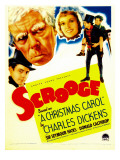 Scrooge  Second from Left: Seymour Hicks on Midget Window Card  1935