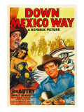 Down Mexico Way  Smiley Burnette  Fay Mckenzie  Gene Autry  1941