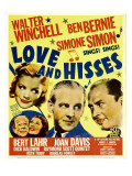 Love and Hisses  Simone Simon  Walter Winchell  Ben Bernie  1937