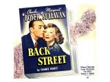 Back Street  Charles Boyer  Margaret Sullavan on Jumbo Window Card  1941
