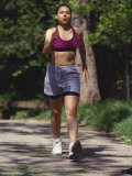 Woman Out on a Fitness Walk