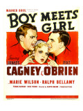 Boy Meets Girl  James Cagney  Marie Wilson  Pat O&#39;Brien  1938