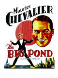 The Big Pond  Maurice Chevalier on Window Card  1930