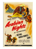 Arabian Nights  1942  Poster Art