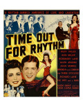 Time Out for Rhythm  Allen Jenkins  Rosemary Lane  Ann Miller  Rudy Vallee on Window Card  1941