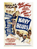 Navy Blues  Ann Sheridan  Jack Haley  Jack Oakie  Martha Raye on Midget Window Card  1941