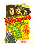 Kidnapped  Warner Baxter  Arleen Whelan  Freddie Bartholomew on Midget Window Card  1938