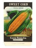 Sweet Corn Seed Packet