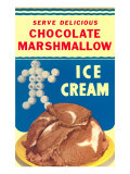 Chocolate Marshmallow Ice Cream
