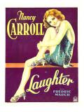 Laughter  Nancy Carroll on Window Card  1930