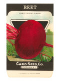 Beet Seed Packet