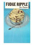 Fudge Ripple Ice Cream
