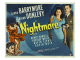 Nightmare  Diana Barrymore  Brian Donlevy  1942