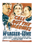 Call Out the Marines  Victor Mclaglen  Binnie Barnes  Edmund Lowe on Window Card  1942