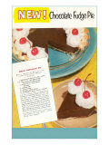 Recipe for Chocolate Fudge Pie