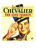 The Love Parade  Maurice Chevalier on Window Card  1929