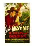 Riders of Destiny  John Wayne  Cecilia Parker  1933