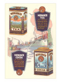Advertisement for Monarch Cocoa and Tea