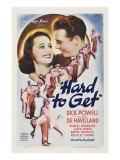 Hard to Get  Olivia De Havilland  Dick Powell  1938