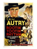 Rootin' Tootin' Rhythm  Top and Bottom: Gene Autry  1937
