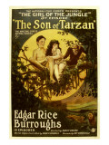 The Son of Tarzan  Gordon Griffith  Mae Giraci in 'Episode 3: the Girl of the Jungle'  1920