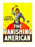 The Vanishing American  Richard Dix on Window Card  1925