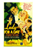 Lady for a Day  Warren William  May Robson  Guy Kibbee  1933