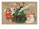 Children Drinking Punch