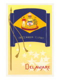 Flag of Delaware