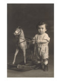 Little Boy with Hobby Horse