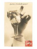 Let's Celebrate  Girl in Glass