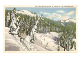 Winter  Coeur d'Alene Mountains  Idaho