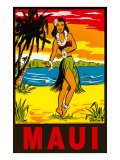 Maui  Hula Girl  Hawaii