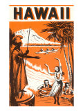 Hawaii  King Kamehameha and Outriggers