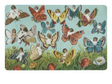 Butterflies with Victorian Children