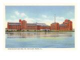 Hiram Walker Distillery  Peoria  Illinois