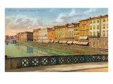 Arno Riverside  Florence  Italy