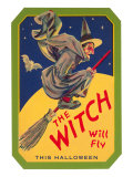 Halloween  The Witch will Fly